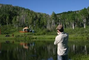 Yurt-Pond