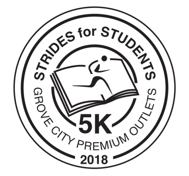 Inaugural Strides for Students 5k at Grove City Premium Outlets