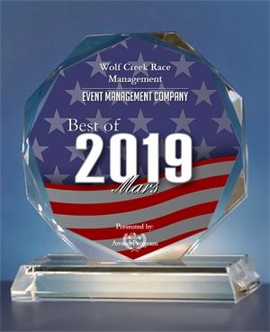 Wolf Creek Race Management Receives 2019 Best of Mars Award