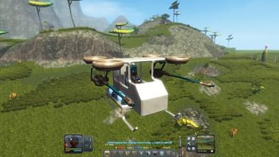 My flying machine! (Planet Explorers)