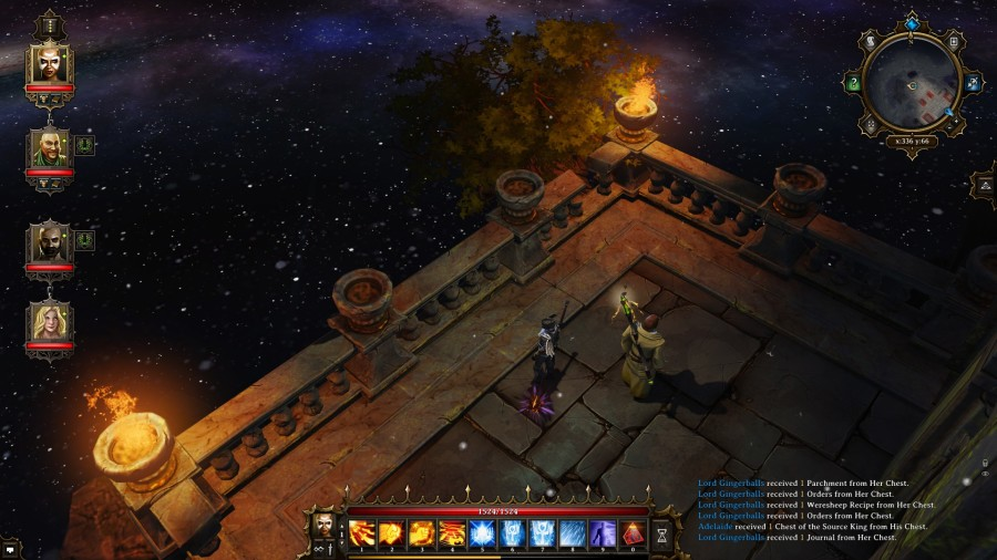 Divinity: Original Sin - Space balconey