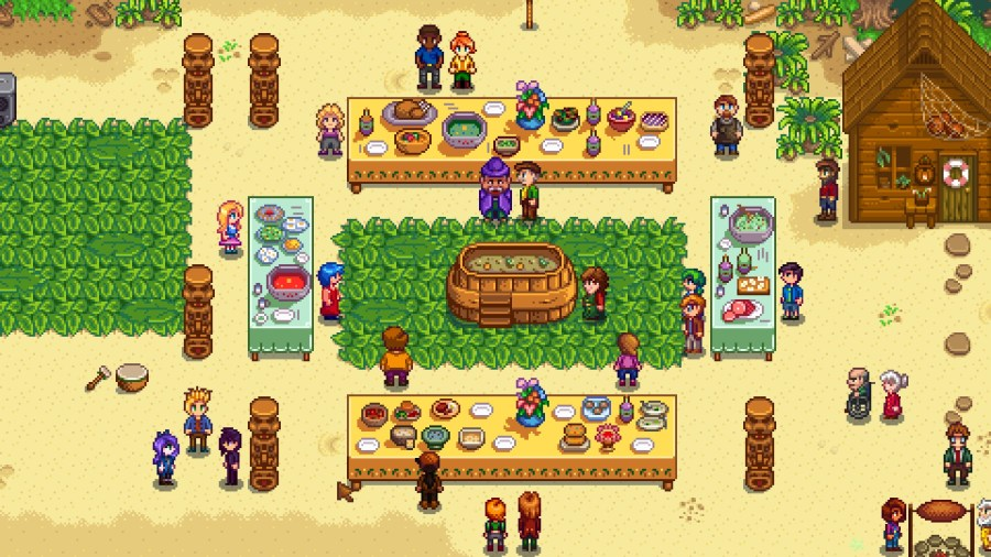 Stardew Valley Luau