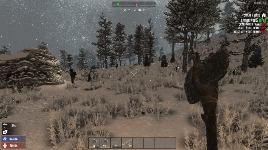 How many games actually change the terrain to reflect the weather changes though?