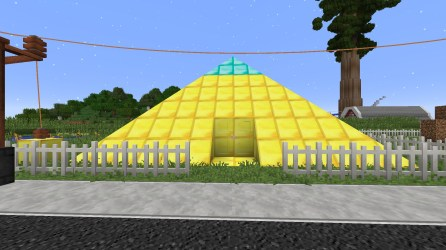 PO2 Village Gold pyramid