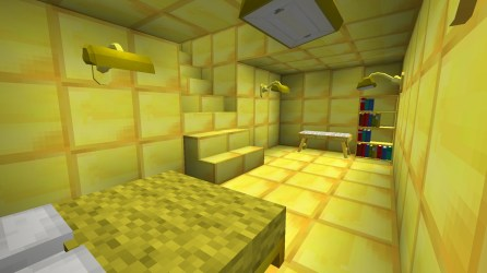 PO2 Village Gold pyramid inside