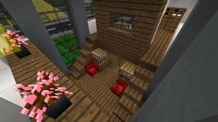 PO2 Village Modern house with farm living room
