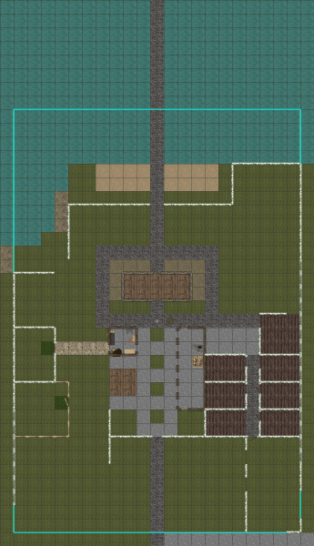 The layout for Ravenswood