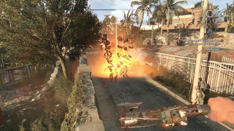 Explosive trap bomb