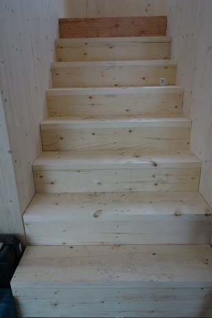 We have stairs