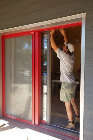 Removing the sliding door