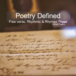 Image of Poetry Defined: Acrostic Poem