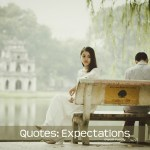 Image of quote expectations