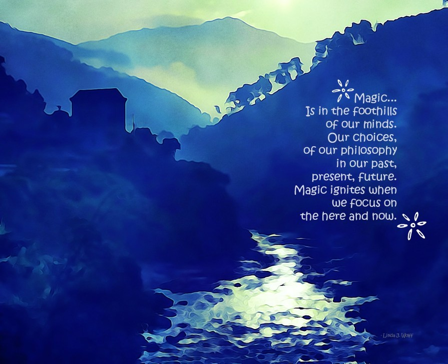Free Verse Poem Be Here Now Image