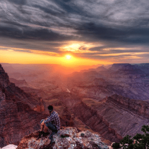 Micro-Poetry & Riccardo Mantero - Lipan Point, Grand Canyon, AZ Image