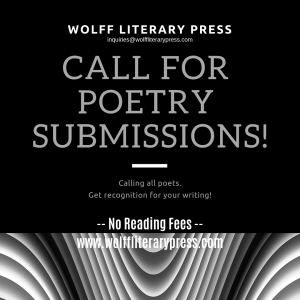 Wolff Poetry Literary Magazine - A Poet's Place | Wolff