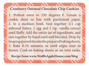 Print your own baking instruction label!