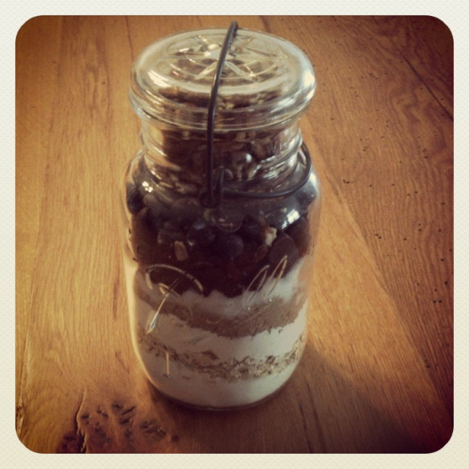 Cookie Recipe in a Jar