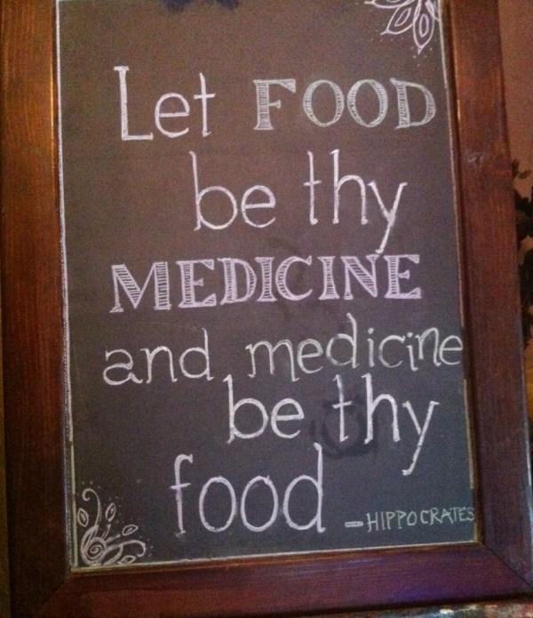 Food Medicine crop