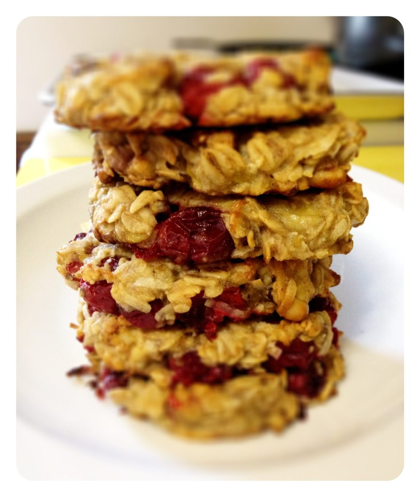 gluten-free cranberry oatmeal cookies