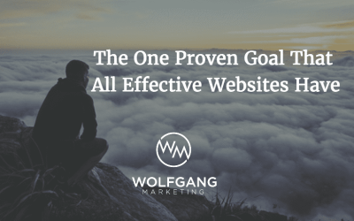 The One Proven Goal That All Effective Websites Have