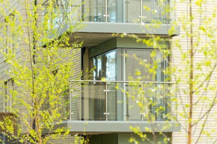 balconies, new flats, Brighton