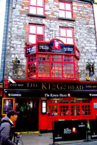 The Kings Head Pub in Galway
