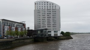 Clarion Hotel Limerick on the shore of the Shannon