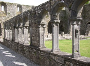 Cloister at Jerpoint Abbey