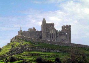 Rock of Cashel from the distance