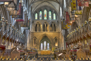 st. patricks cathedral choir benches