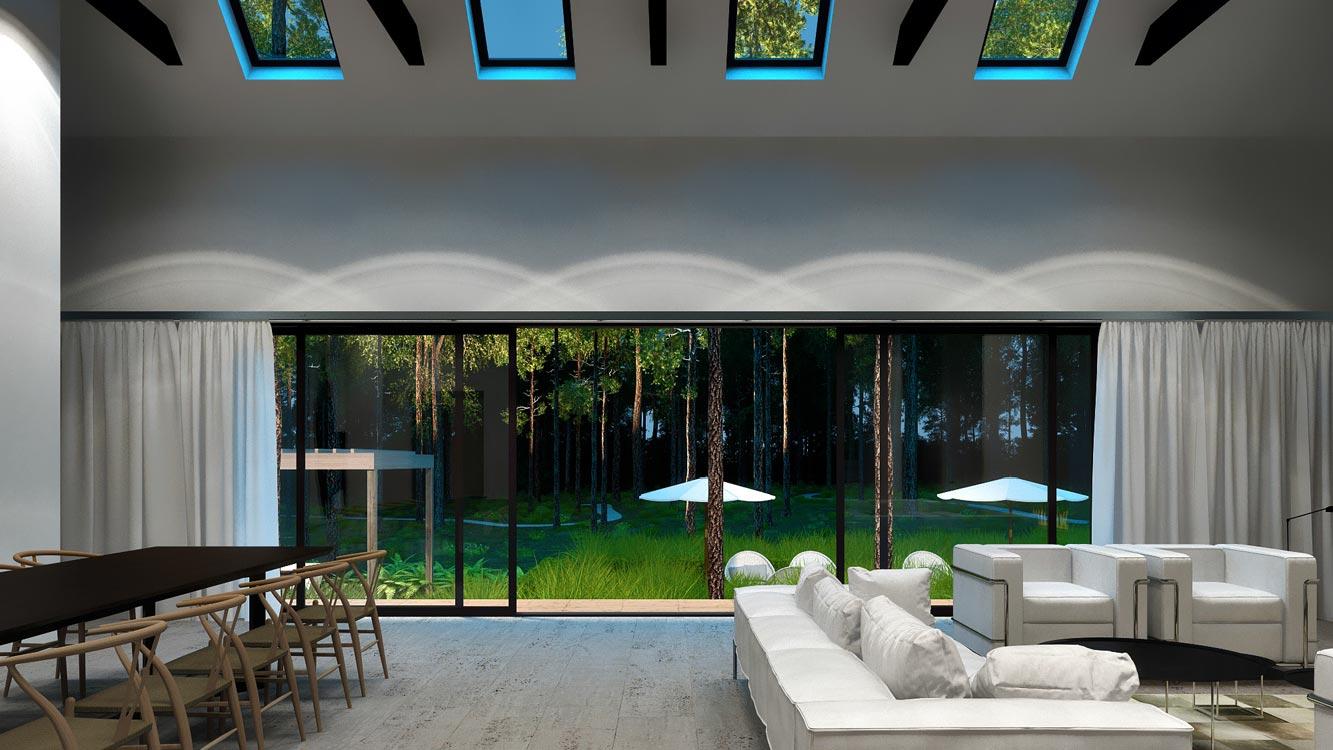 The Modern Hamptons Barn Wolfgang Ludes Studio
