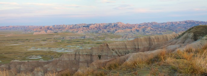 Badlands National Park panorama