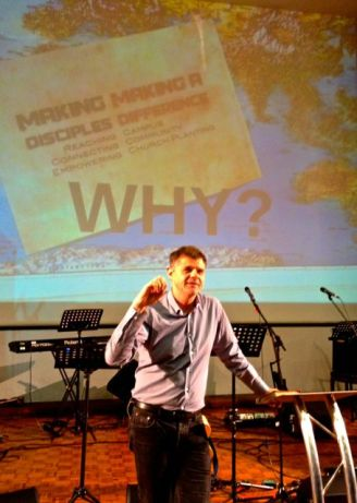 """WHY do we """"make disciples & make a difference""""?"""