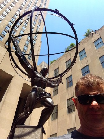 Atlas in New York. This NOT the way I want to live!