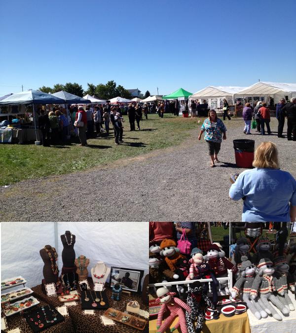 Garlic Festival Vendors Booths