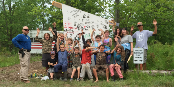 Barefoot Bushcraft Summer Camp