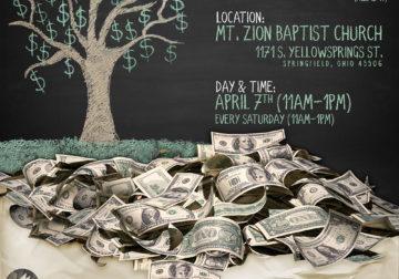 Flyer – Money Doesn't Grow on Trees