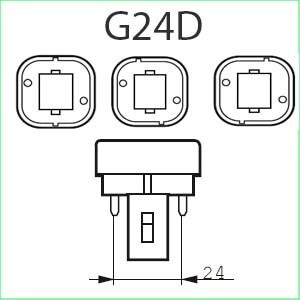 G24D lampen