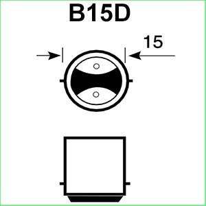 B15D lampen