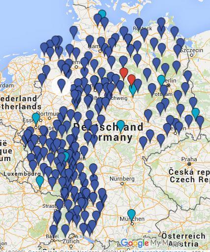 Wölfe In Brandenburg Karte.Aktuelle übersichtskarten Wölfe In Deutschland Und Infos Für