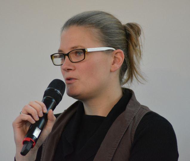 Dr. Britta Habbe von der Landesjägerschaft Niedersachsen (Foto: Vogler)