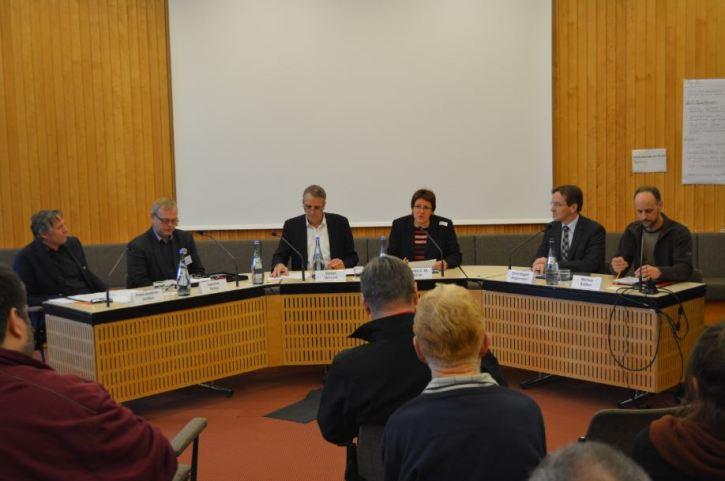 Abschlussdiskussion (Foto: Vogler)