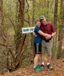 Sheila & Howard, 2017 on Longleaf Trace, Hattiesburg, MS