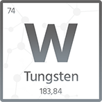 Wolfram, pręty, blachy, rury