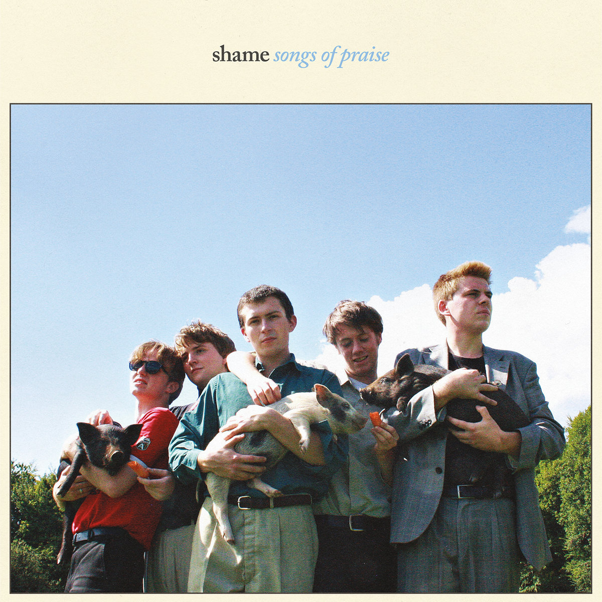 Musik gekauft: Shame – Songs of Praise