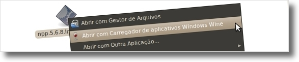 Notepad++ no Ubuntu (2/6)