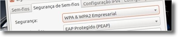 Configure a internet wireless da UBI no Ubuntu (5/6)