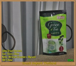 Snack Thailand Zolito Green Tea