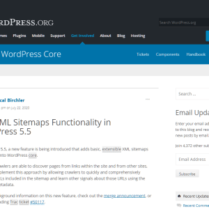 WordPress robots.txt ve wp-sitemap.xml