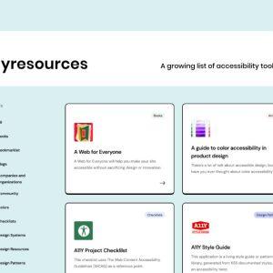 Web tasarımcıları için erişilebilirlik kaynakları